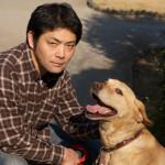 柳田ひでのりと犬